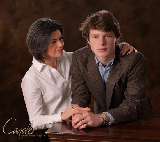 braden and courtney portrait family